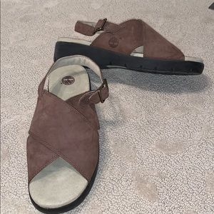 Timberland Sandals - Brown Leather - Size 8 - NWOT